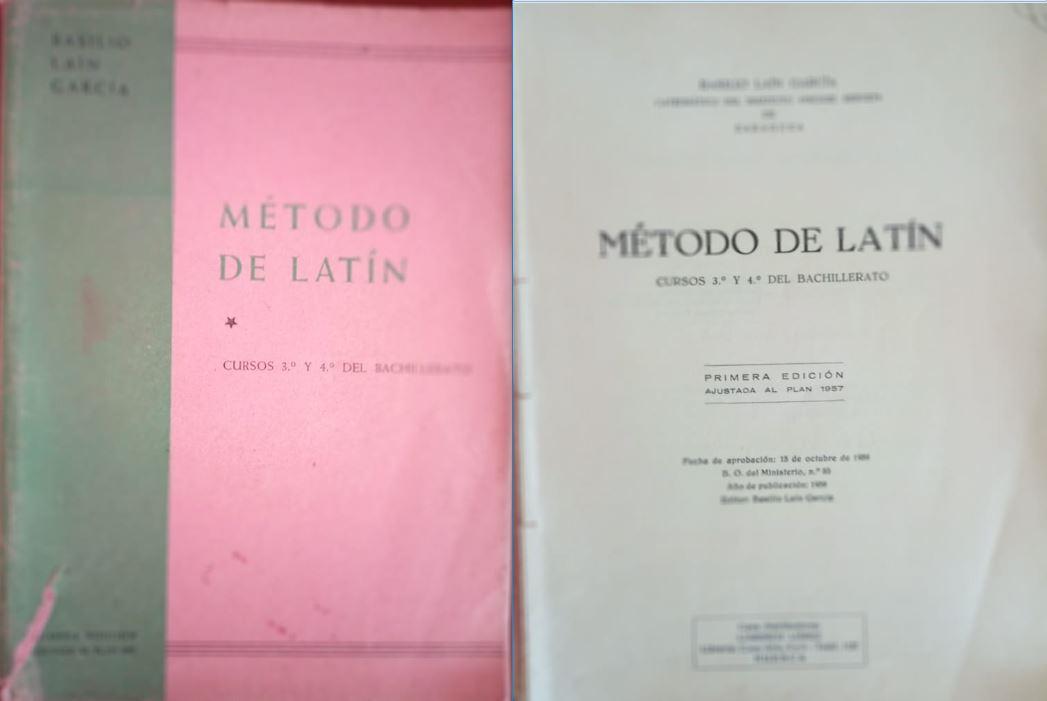 Latín 3º e 4º (Plan 1957)