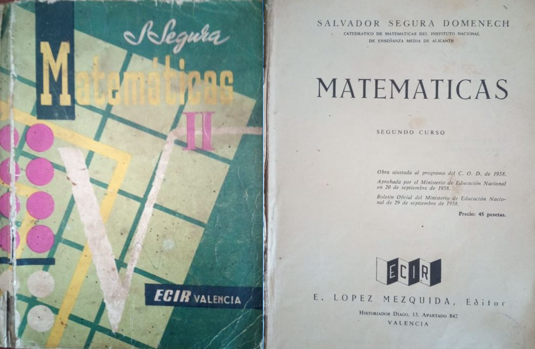 Matemáticas 2º (Plan 1958)