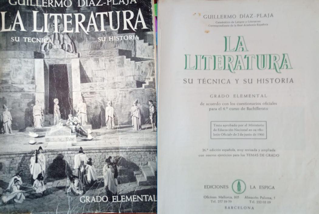 Literatura 4º (Plan 1958)