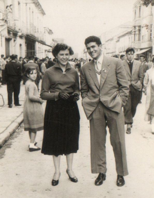 Alicia Baamonde Paz e Paulino García Seco.
